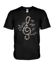 Music Can Change The World D0753 V-Neck T-Shirt thumbnail