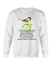 A Bird Sitting On A Tree D01111 Crewneck Sweatshirt thumbnail
