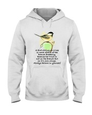 A Bird Sitting On A Tree D01111 Hooded Sweatshirt thumbnail