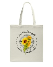 And I Think To Myself D0591 Tote Bag thumbnail