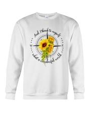 And I Think To Myself D0591 Crewneck Sweatshirt thumbnail