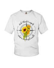 And I Think To Myself D0591 Youth T-Shirt thumbnail