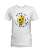 And I Think To Myself D0591 Ladies T-Shirt thumbnail