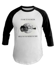 FLy Me To The Moon D0751A Baseball Tee front