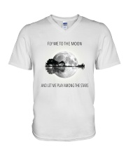 FLy Me To The Moon D0751A V-Neck T-Shirt thumbnail