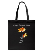 Whisper Words Of Wisdom D01128 Tote Bag thumbnail