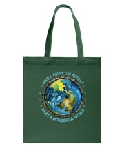 And I Think To Myself D0964 Tote Bag thumbnail