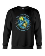 And I Think To Myself D0964 Crewneck Sweatshirt thumbnail