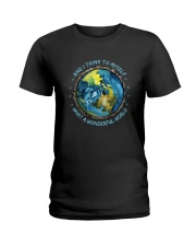 And I Think To Myself D0964 Ladies T-Shirt thumbnail