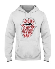 Try Something A0098 Hooded Sweatshirt front