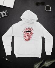 Try Something A0098 Hooded Sweatshirt lifestyle-unisex-hoodie-front-9