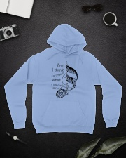 And I Think To Myself Hooded Sweatshirt lifestyle-unisex-hoodie-front-9