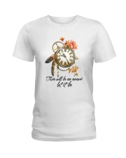 There Will Be An Answer D01079 Ladies T-Shirt thumbnail