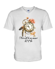 There Will Be An Answer D01079 V-Neck T-Shirt thumbnail
