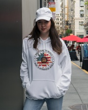 What A Wonderful World Hooded Sweatshirt lifestyle-unisex-hoodie-front-5