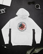 What A Wonderful World Hooded Sweatshirt lifestyle-unisex-hoodie-front-9