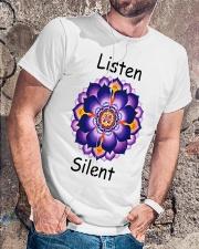Listen Silent Classic T-Shirt lifestyle-mens-crewneck-front-4