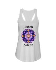 Listen Silent Ladies Flowy Tank thumbnail