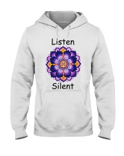 Listen Silent Hooded Sweatshirt thumbnail