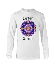 Listen Silent Long Sleeve Tee tile