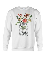 I Must Have Flowers Always And Always Hippie D0088 Crewneck Sweatshirt thumbnail