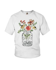 I Must Have Flowers Always And Always Hippie D0088 Youth T-Shirt thumbnail