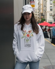 I Must Have Flowers Always And Always Hippie D0088 Hooded Sweatshirt lifestyle-unisex-hoodie-front-5