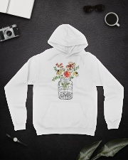 I Must Have Flowers Always And Always Hippie D0088 Hooded Sweatshirt lifestyle-unisex-hoodie-front-9