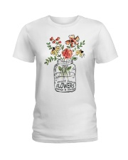 I Must Have Flowers Always And Always Hippie D0088 Ladies T-Shirt thumbnail