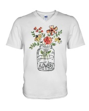 I Must Have Flowers Always And Always Hippie D0088 V-Neck T-Shirt thumbnail