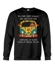 On A Dark Desert Highway A0060 Crewneck Sweatshirt thumbnail
