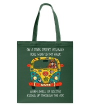 On A Dark Desert Highway A0060 Tote Bag thumbnail