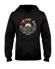 Give Me The Beat And Boys  Hooded Sweatshirt thumbnail