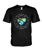 I See Trees Of Green D01238 V-Neck T-Shirt thumbnail