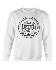 You Belong Somewhere You Feel Frees A0206 Crewneck Sweatshirt thumbnail