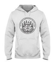 You Belong Somewhere You Feel Frees A0206 Hooded Sweatshirt front