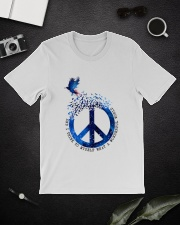 And I Think To Myself D01109 Classic T-Shirt lifestyle-mens-crewneck-front-16