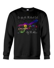 See You On The Dark Side Of The Moon Crewneck Sweatshirt thumbnail