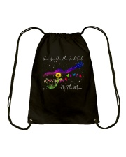 See You On The Dark Side Of The Moon Drawstring Bag thumbnail