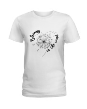 Blowing In The Wind Ladies T-Shirt thumbnail