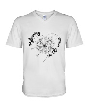Blowing In The Wind V-Neck T-Shirt thumbnail
