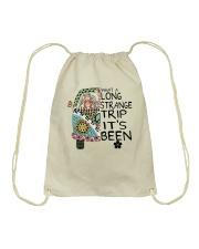 What A Long Strange Trip A0152 Drawstring Bag thumbnail