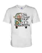 What A Long Strange Trip A0152 V-Neck T-Shirt thumbnail