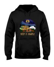 Keep It Simple D0924 Hooded Sweatshirt front