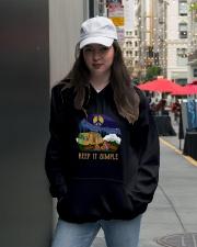 Keep It Simple D0924 Hooded Sweatshirt lifestyle-unisex-hoodie-front-5