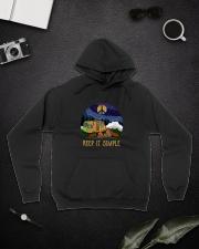 Keep It Simple D0924 Hooded Sweatshirt lifestyle-unisex-hoodie-front-9