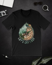 Let's Get Lost Classic T-Shirt lifestyle-mens-crewneck-front-16