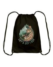 Let's Get Lost Drawstring Bag thumbnail