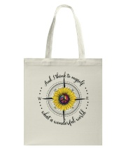 And I Think To Myself D0590 Tote Bag thumbnail