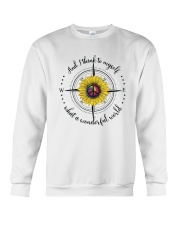 And I Think To Myself D0590 Crewneck Sweatshirt thumbnail